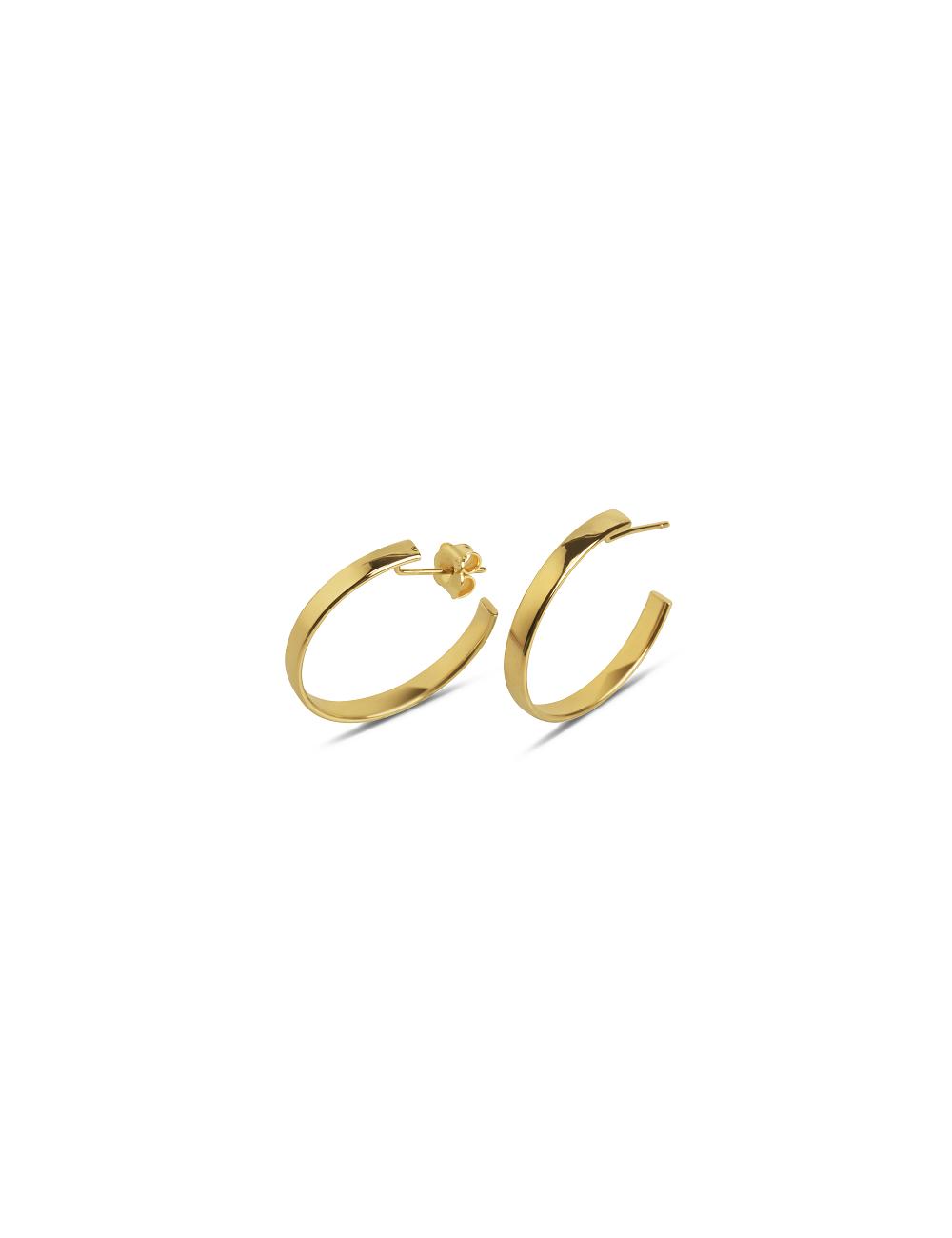 -Pendientes oro amarillo -A31-OR254-2,5D:00