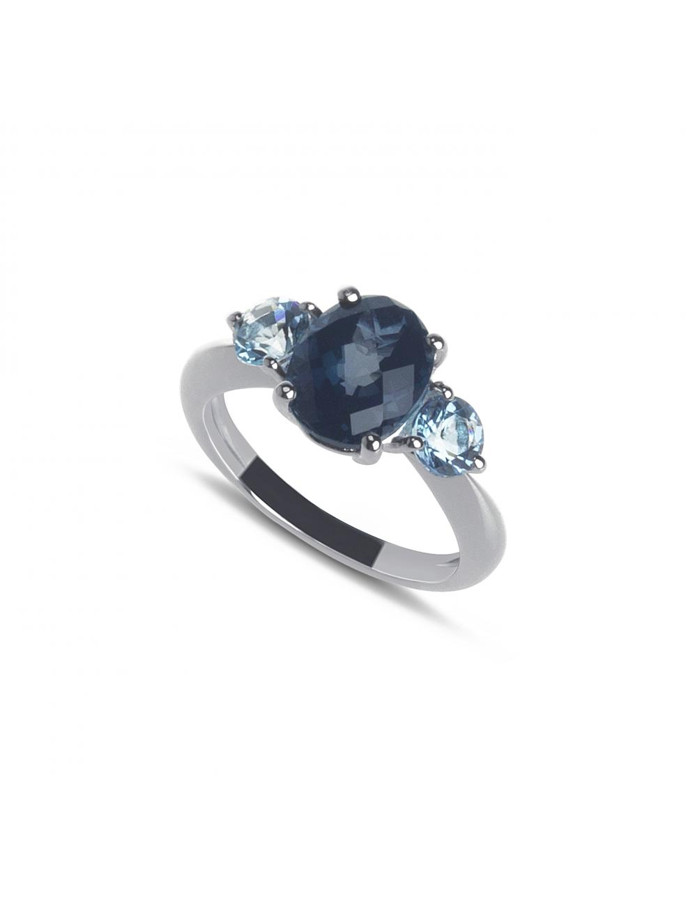 -Anillo oro blanco topacio azul london y suizos -A30-45116MIX11:01