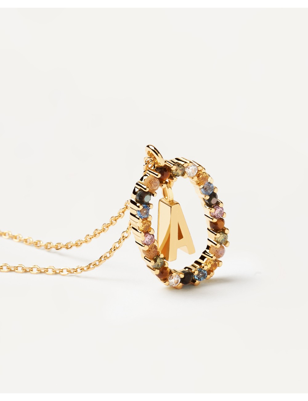 PdPaola -Collar PdPaola letra gold -CO01-260-U