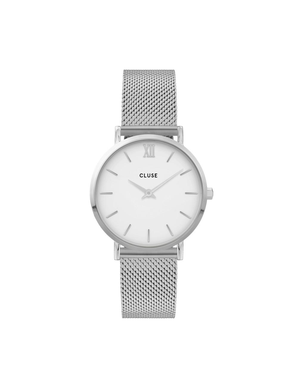 Cluse -Cluse Minuit Mesh White -CW0101203002