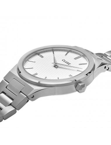 Cluse -Cluse Vigoureux Steel White -CW0101210003