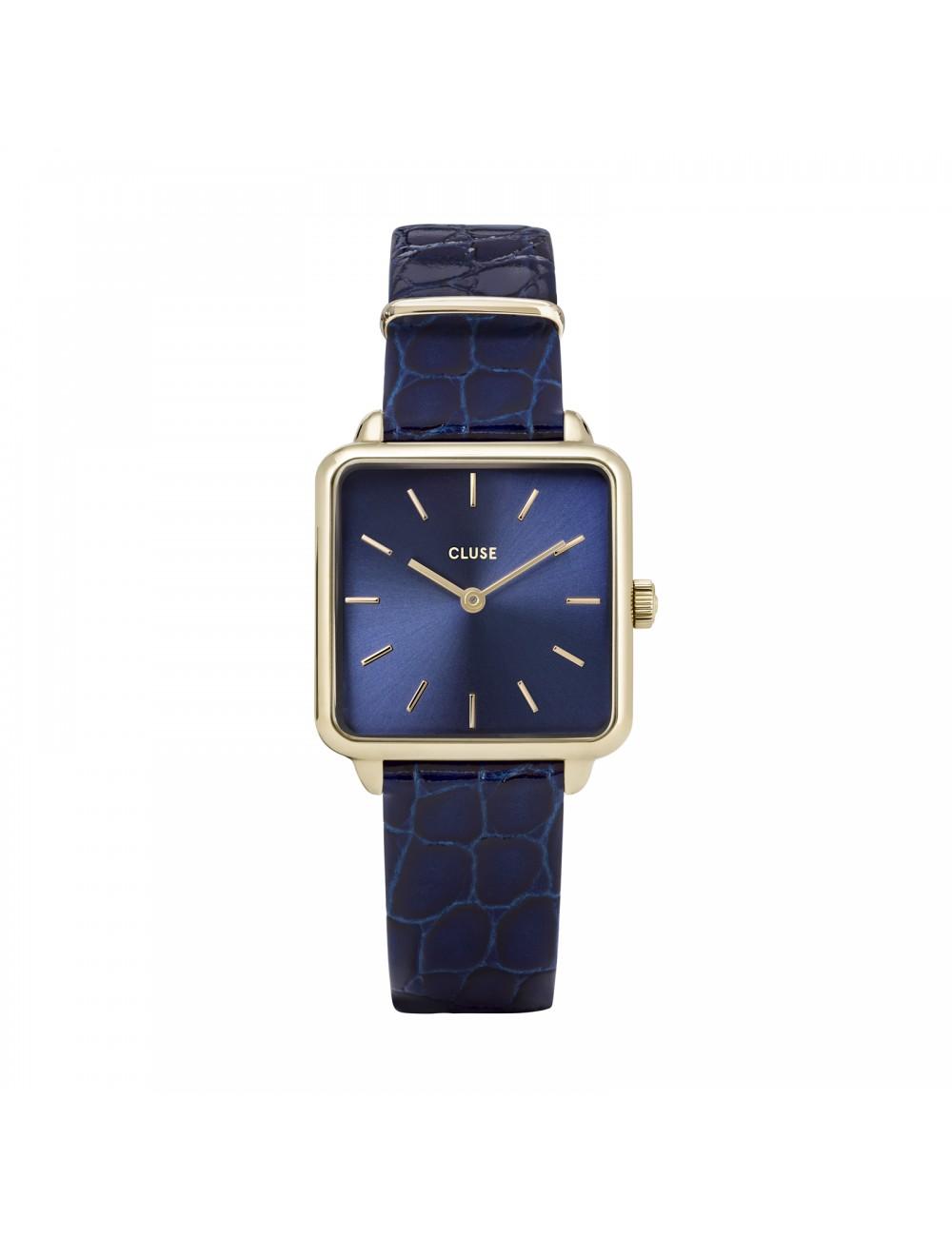 Cluse -Cluse La Tétragone Leather Blue -CW0101207028