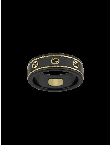 Gucci -Anillo Gucci Icon de oro amarillo con GG -YBC606826001015