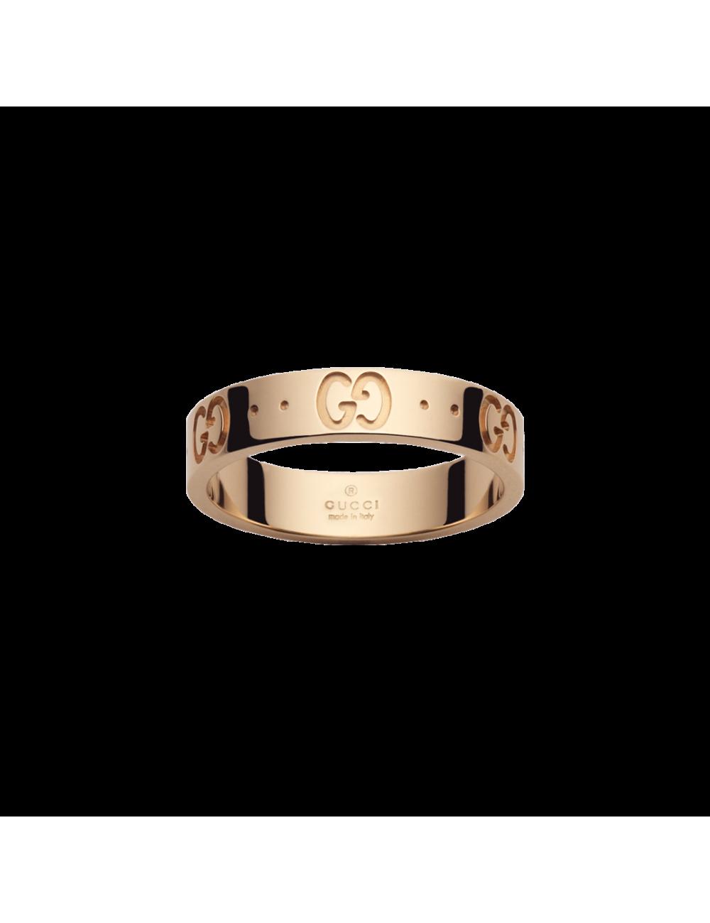 Gucci -Anillo Gucci GG Icon oro rosa -YBC152045001015