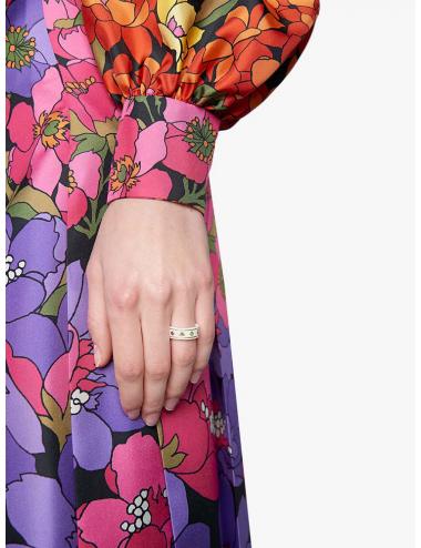Gucci -Anillo Gucci Icon con gemas -YBC52709500101