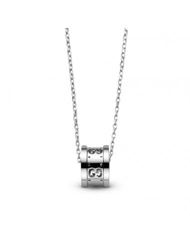 Gucci -Collar Gucci Icon Twirl Oro blanco -YBB21416900300U