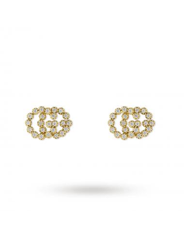 Aros de oro blanco con diamantes - 1
