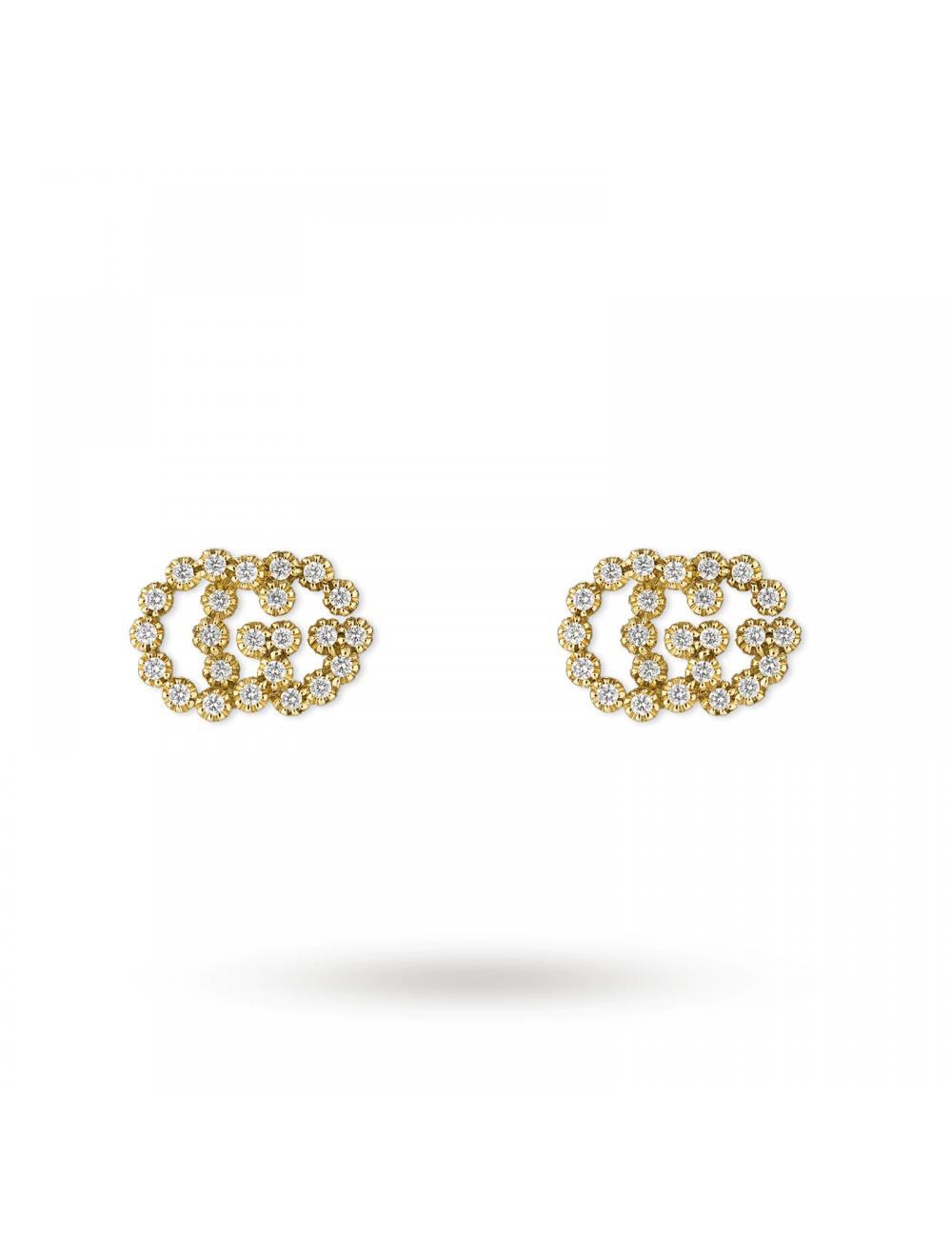 Gucci -Pendientes Gucci GG Running de oro amarillo -YBD48167600100U