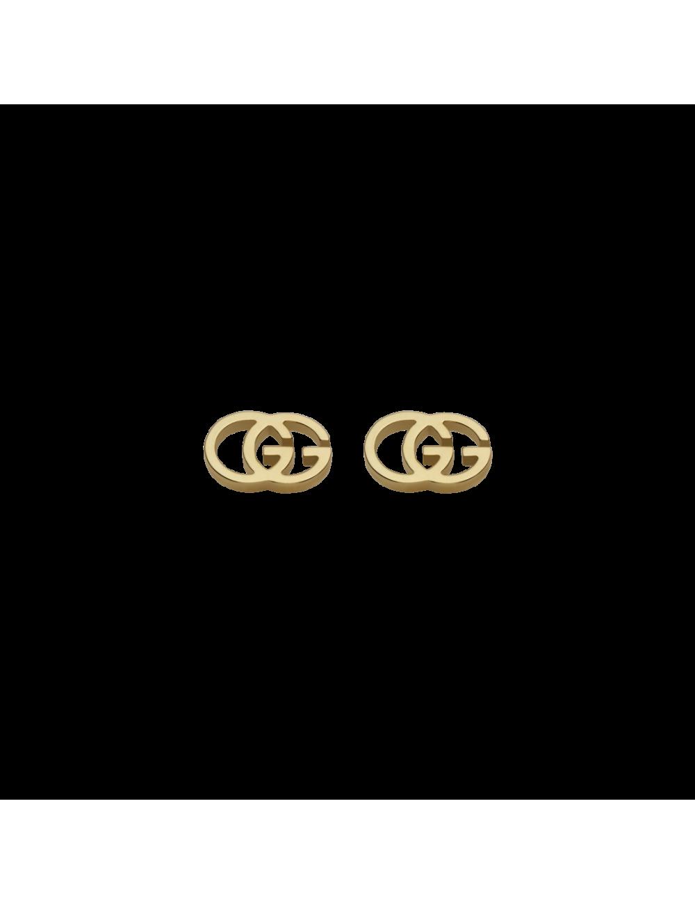 Gucci -Pendientes Gucci GG de Oro amarillo -YBD09407400200U