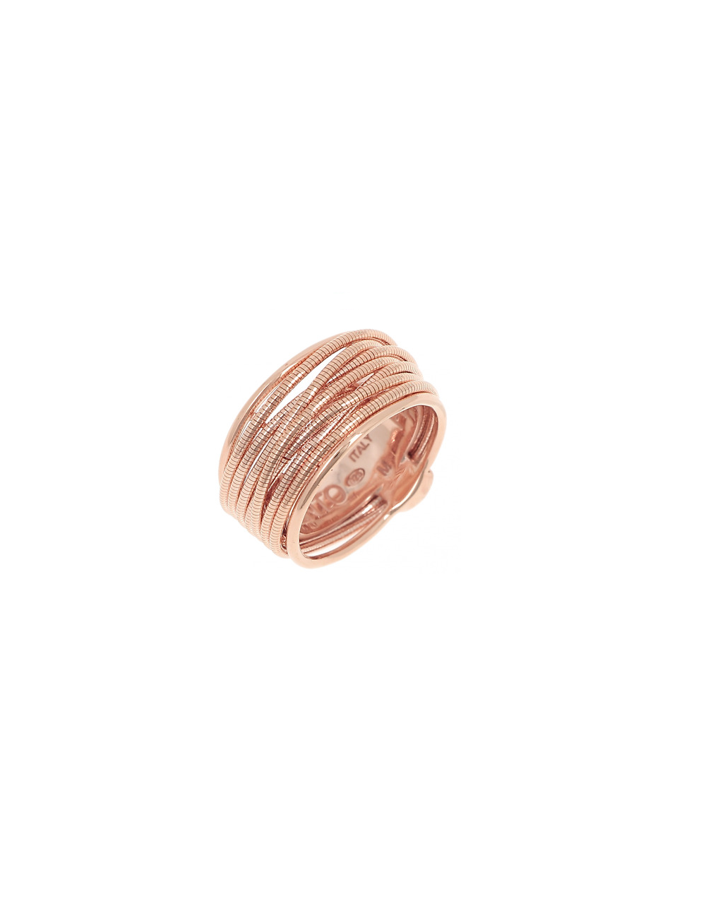 Pesavento -Anillo Pesavento Plata Rosa -WDNAA102
