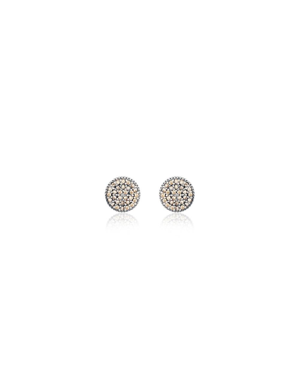 Sunfield -Pendientes Sunfield plata y circonitas -PE062330/23