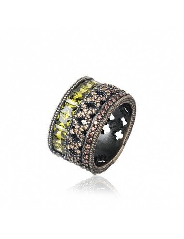 YBC52709500101Anillo Gucci Icon con gemas