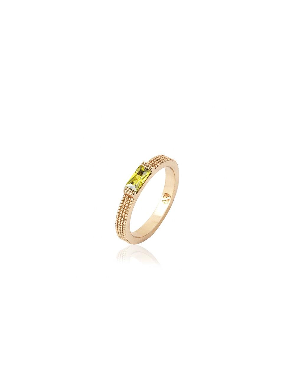 Sunfield -Anillo Sunfield plata baño oro rosa y circonita -AN062435-2-20