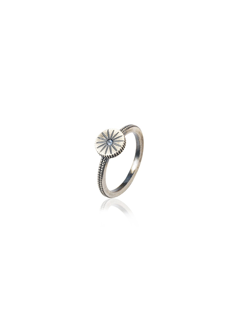 Sunfield -Anillo Sunfield plata y circonita -AN062332/17