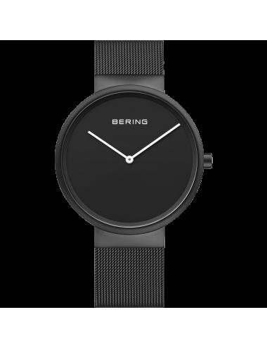 Bering -Bering Classic hombre acero negro -14539-122