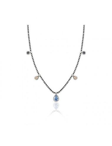 Sunfield -Collar Sunfield plata y circoninas -CL062440